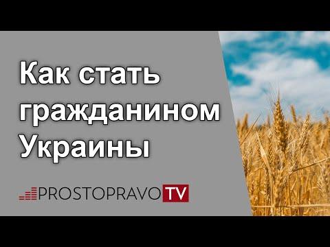 Как стать гражданином украины