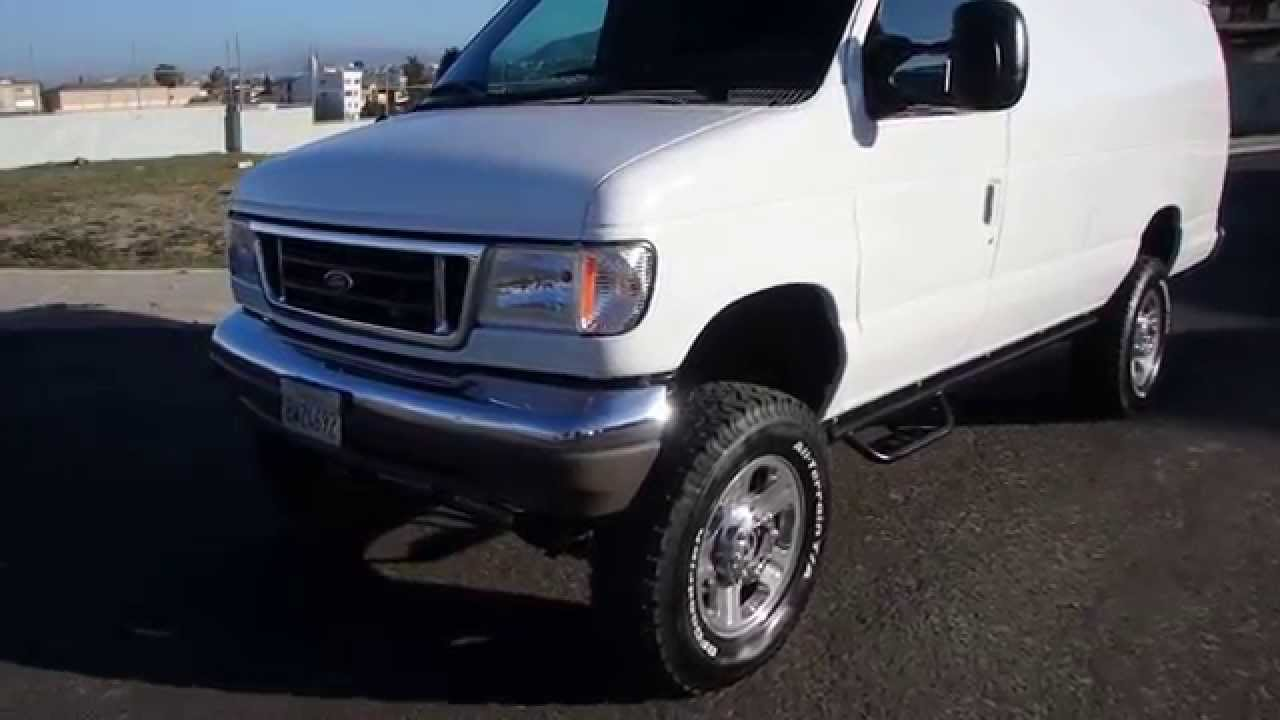 2000 ford e350 7 3 diesel van 4x4 cargo sold youtube. Black Bedroom Furniture Sets. Home Design Ideas