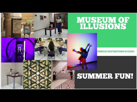 Trip To Museum Of Illusions in Al Seef, Dubai!