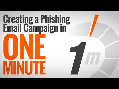 Creating A Simulated Phishing Campaign In One Minute Mp3