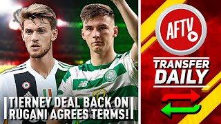Tierney Deal Back On, Rugani Agrees Terms & Elneny Close To Exit! | AFTV Transfer Daily