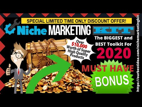 Niche Marketing Kit Review [2018] & Bonus