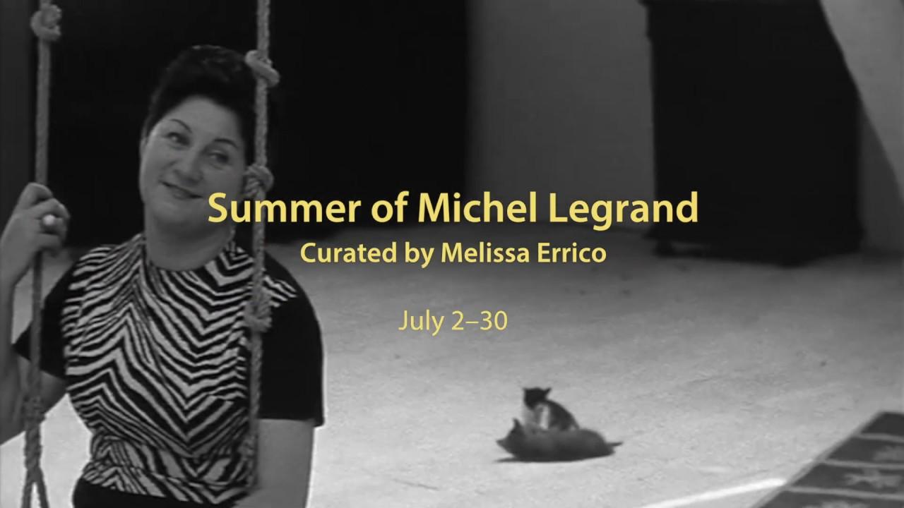 FIAF CINESALON presents: Summer of Michel Legrand