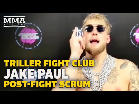 Jake Paul Reacts To Knockout Of Ben Askren: 'I'm Living in a Dream' - MMA Fighting