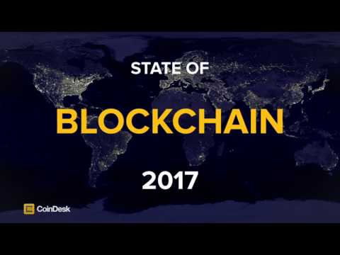 CoinDesk State of Blockchain 2017 Preview