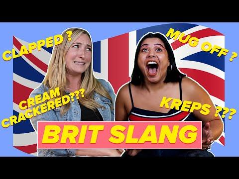 Aussies Guess British Slang