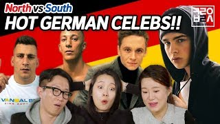 North Korean Defectors React to German Male Celebrities For The First Time [Korean Bros]