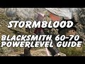 FFXIV Blacksmith 60-70 Powerlevel Guide - Leves, Collectables & Resources