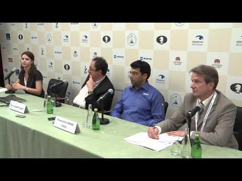 The FIDE World Chess Championship Match. Tiebreak. Press conference