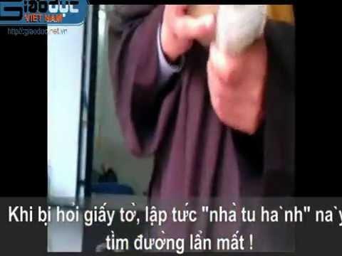 Video  Lật mặt sư giả xin tiền ở Hà Nội   HAY88 COM   Tin Hay Chọn Lọc