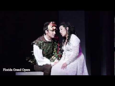 Sébastien Guèze and Maria Alejandres - Romeo et Juliette - Florida Grand Opera