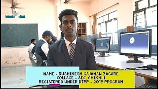 Rushikesh Zagare's Live Review of DTPP program...