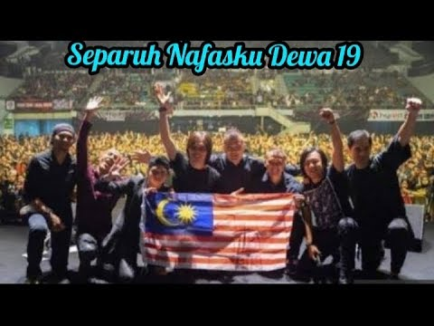 Dewa 19 feat Once arie lasso Separuh Nafasku || Dewa 19 Reunion live in Malaysia