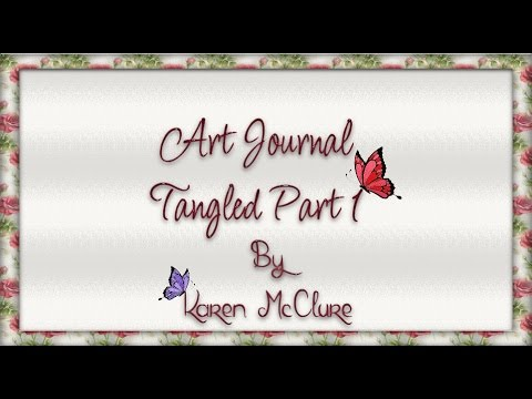 Art Journal - 11th December 2015 - Tangled