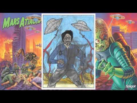 Motion comic Mars Attacks! & Tim Burton