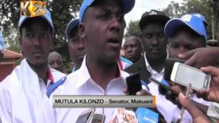 Senate aspirants present their nomination papers to county returning officers