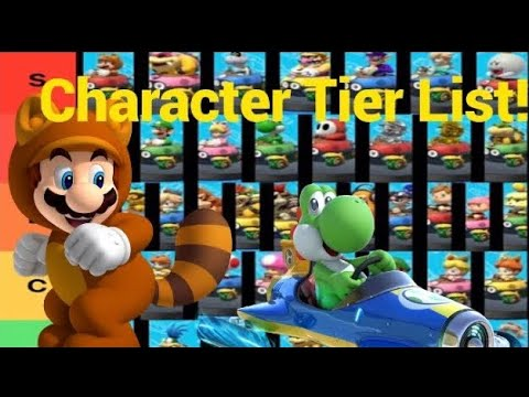 Mariokart 8 Deluxe Character Tier List Youtube