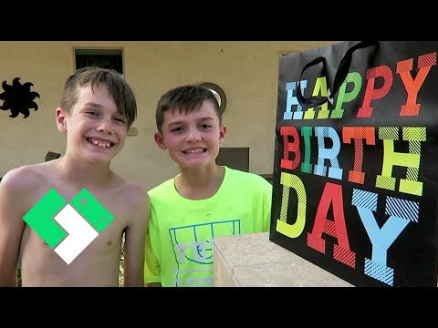 Bryce and Mason's Birthday Pool Party! | Clintus.tv