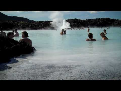 A sunny day in the Blue Lagoon