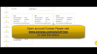 Start trading with best broker forex online (Exness)