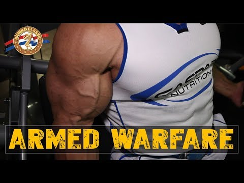 Armed Warfare - Road To Arnold Classic Prep 2018 - Episode 5
