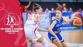 Turkey v Greece - Full Game - FIBA U16 Women's European Championship 2019