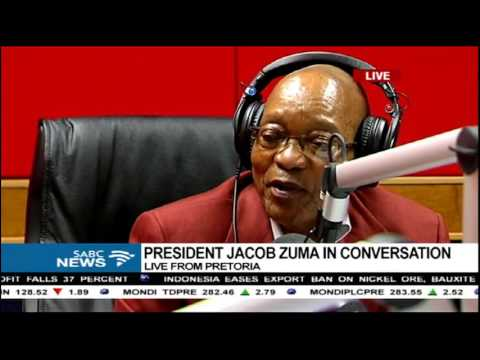 President Jacob Zuma graces three Sotho radio stations