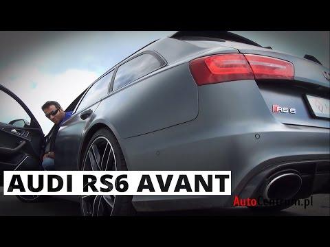 Audi RS6 Avant 4.0 V8 560 KM, 2014 PL ENG test AutoCentrum.pl 100