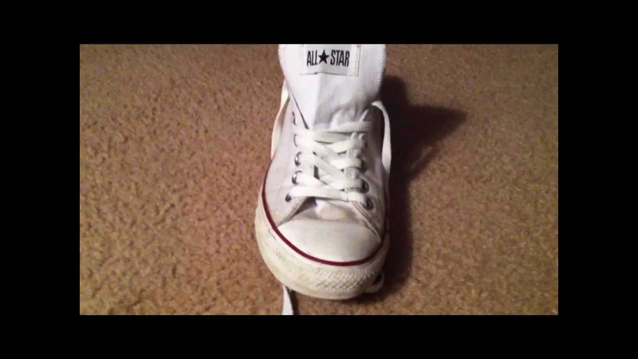 a82d11167ea7f0 How To Lace Your Converse - YouTube