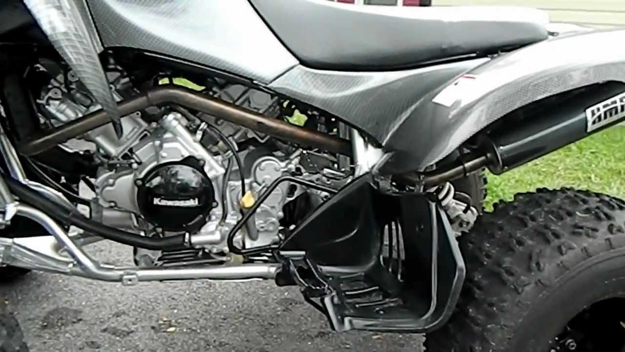 My 2004 Kawasaki KFX 700 - YouTube