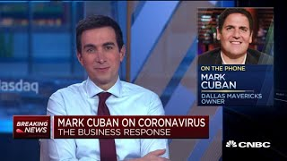 """Billionaire entrepeneur mark cuban said wednesday he's been """"dipping his toes"""" into the market during its recent stretch of coronavirus-driven volatility. """"i..."""