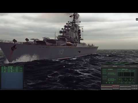 Cold Waters - SP 6 (Skirmish In The Denmark Strait, MK16 hit 6.3kyrds) - No Commentaries