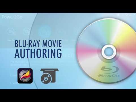 Power2Go   Blu-ray Movie Authoring