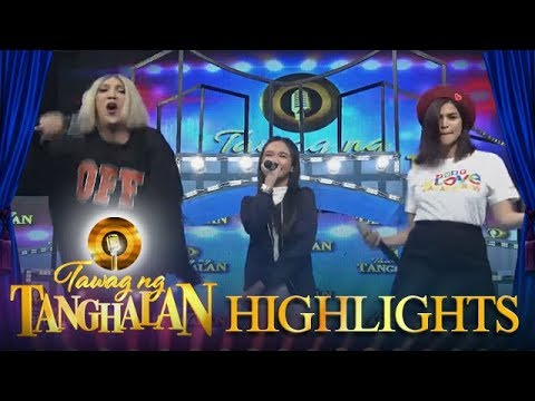 Tawag ng Tanghalan: Vice and Anne dance to the voice of Luzon Daily Contender