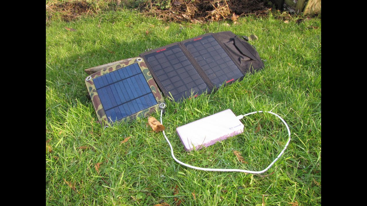 Connecting Usb Solar Cellphone Chargers Together Youtube