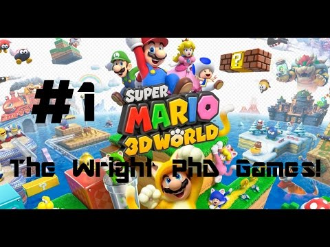 Super Mario 3D World - Part 1 - Mario is a plumber?