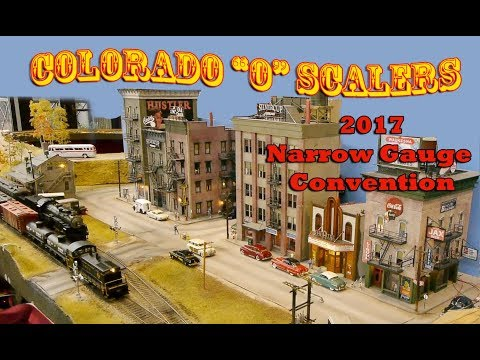 The Colorado O Scale Modelers -  2017 Narrow Gauge Convention - 1996 Narrow Gauge Convention