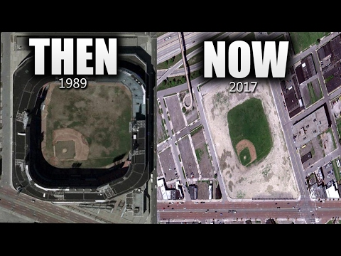 ABANDONED Baseball Stadiums THEN & NOW!