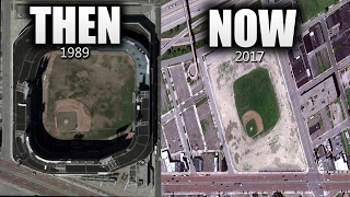 ABANDONED Baseball Stadiums THEN & NOW!