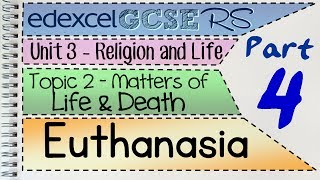 GCSE RS Unit 3.2 (Part 4 of 5) Euthanasia | by MrMcMillanREvis