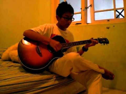 Dimas Adyarakha - Gitar ( Vierra - Semua Tentangmu ) ^_^
