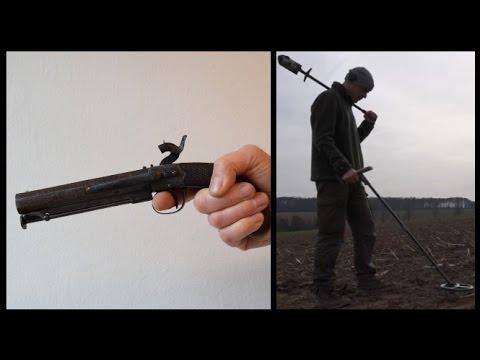 AMAZING GUN PART!! Metal Detecting Germany Nr.122