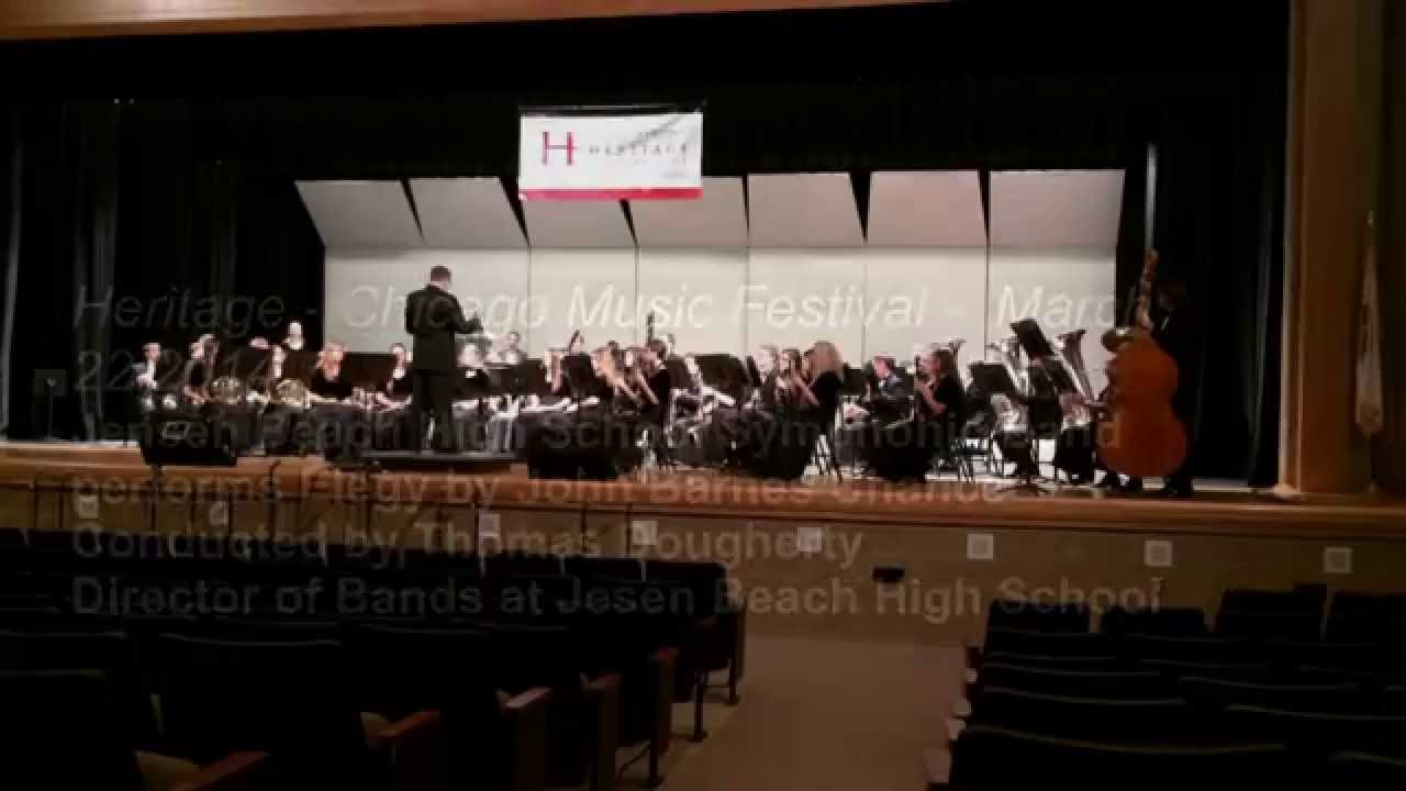Jensen Beach High School Symphonic Band Elegy Performance