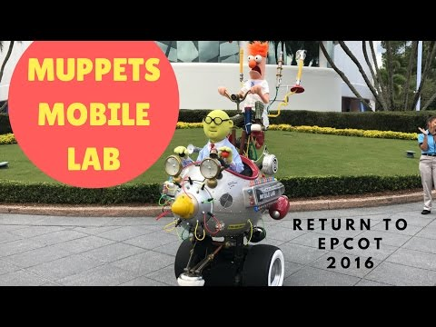 PHOTOS, VIDEO: The Highly-Acclaimed Muppets Mobile Lab