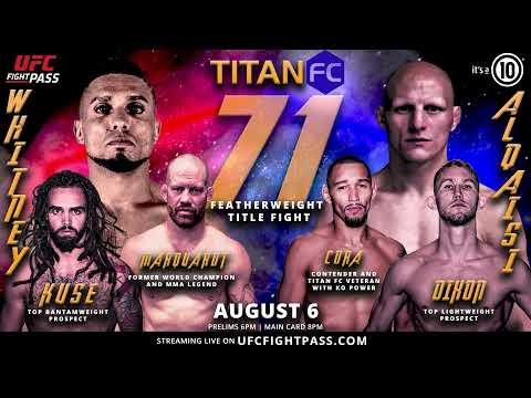 Titan FC 71 Show Open