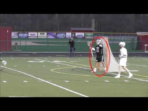 Logan Moore- 2021 Goalie- Westerville Central High School Spring Lacrosse Highlights 2019
