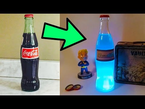 10 Cool Things You Can Do With Coca Cola (Nuka Cola Quantum, Barbecue Sauce & Tenderize Beef))