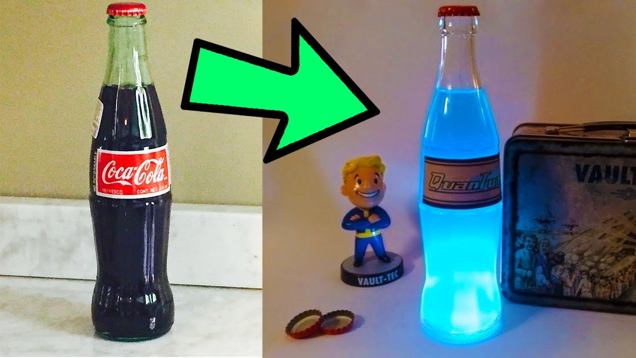 10 cool things you can do with coca cola nuka cola for Things to make out of glass