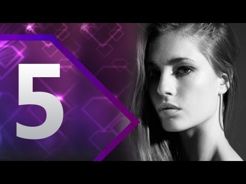 First Face - #5 Nadja Bender - Spring/Summer 2013 | Top 10 Models at Fashion Week | FashionTV