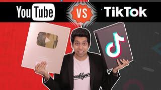 YouTube Vs TikTok | Detailed Analysis | Him eesh Madaan